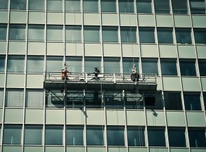 high rise facade